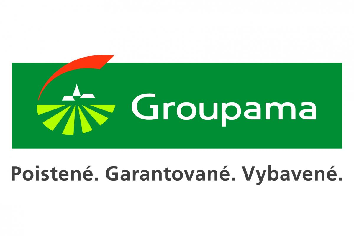 Logo poisťovne Groupama