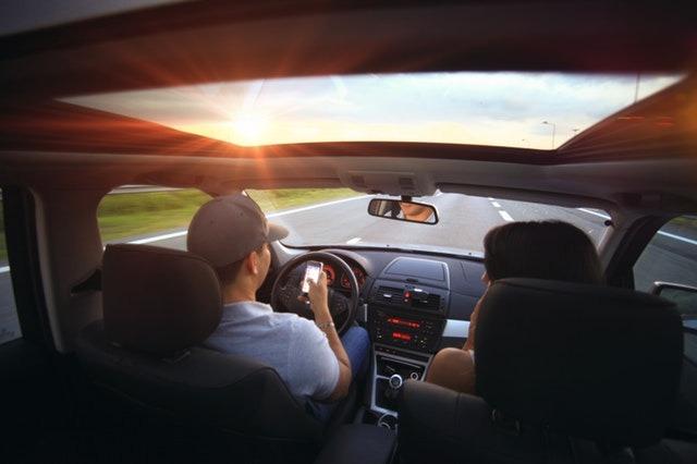 Telefonovanie počas jazdy